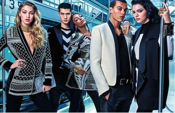 Capture2 610x394 BALMAIN X H&M kampaň