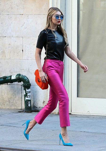 GigiHadid 12 Americká topmodelka Gigi Hadid vystúpila proti kritike na jej postavu