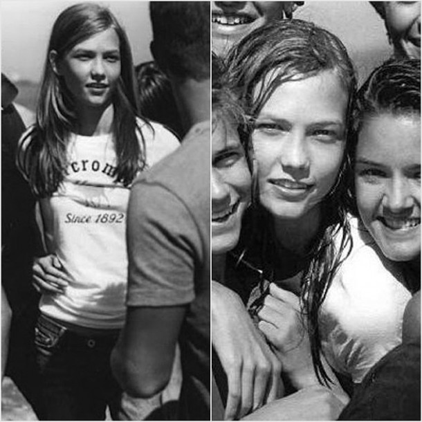 Karlie Kloss 2007 610x610 Kto si kedysi zapózoval pre Abercrombie?