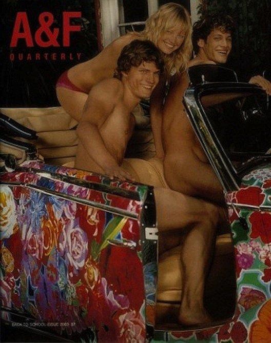 Malin Akerman 2003 Kto si kedysi zapózoval pre Abercrombie?