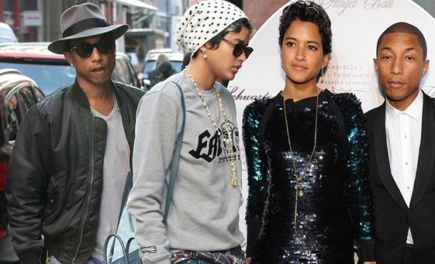 f10a8227d837eee33161135a3a8a263a 610x371 Štýlová dvojka: Pharrell a Helen