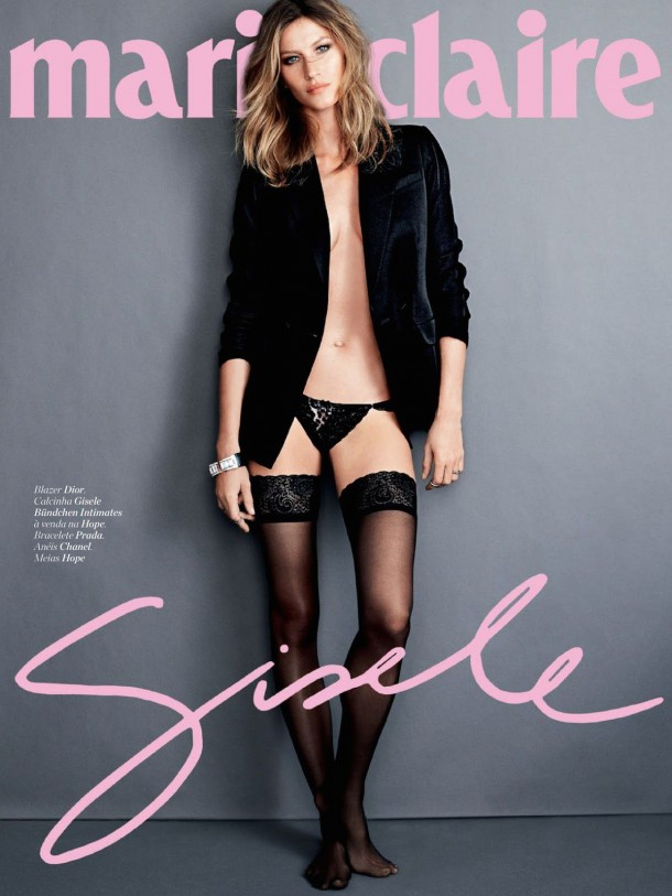 gisele bundchen in marie claire magazine brazil april 2014 issue 3 610x813 Gisele Bundchen za 700 dolárov