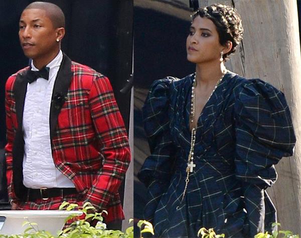 ilhbgiyftdrs Štýlová dvojka: Pharrell a Helen