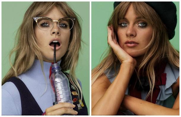 collage5 610x396 Cressida Bonas pre Jalouse magazín
