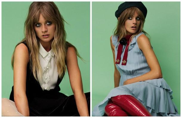 collage6 610x396 Cressida Bonas pre Jalouse magazín