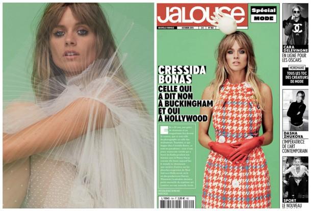 collage8 610x414 Cressida Bonas pre Jalouse magazín