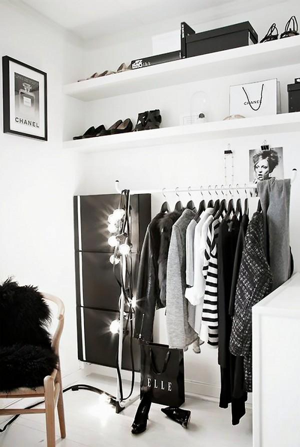 11 closet ideas for the minimalist girl 1578340.600x0c 10 tipov ako si zariadiť šatník v minimalistickom štýle