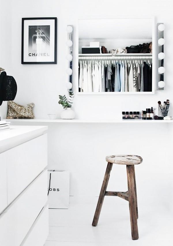 11 closet ideas for the minimalist girl 1578345.600x0c 10 tipov ako si zariadiť šatník v minimalistickom štýle