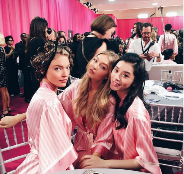 Captufrfrre 610x577 BACKSTAGE: Victoria´s Secret Fashion Show 2015