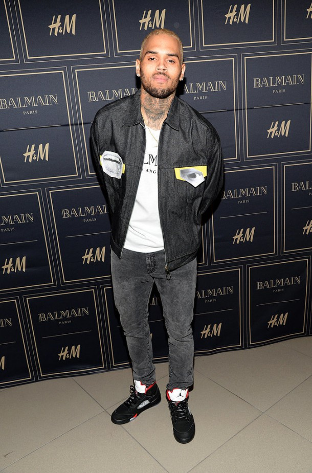 Chris Brown 610x925 BALMAIN X H&M: módne šialenstvo