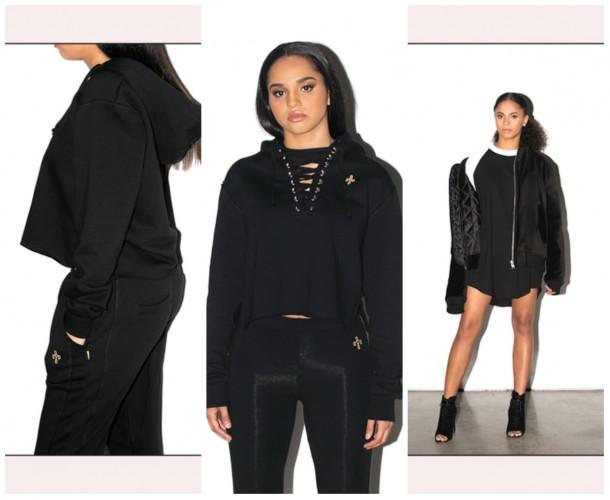 collage13 610x500 Drake navrhol kolekciu oblečenia