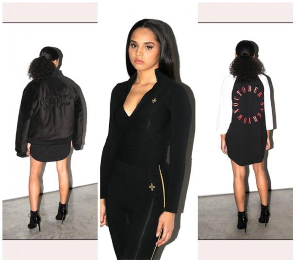 collage14 610x542 Drake navrhol kolekciu oblečenia