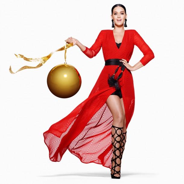 katy perry hm christmas 1 610x610 Katy Perry je tvárou vianočnej kampane pre H&M