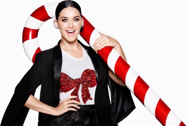 katy perry hm christmas 610x413 Katy Perry je tvárou vianočnej kampane pre H&M