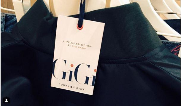 Capture Gigi Hadid navrhuje kolekciu oblečenia