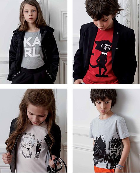 karl4 Karl Lagerfeld navrhol detskú kolekciu