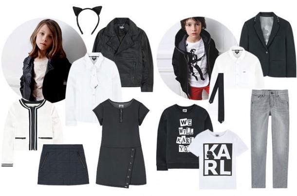 karl6 610x403 Karl Lagerfeld navrhol detskú kolekciu