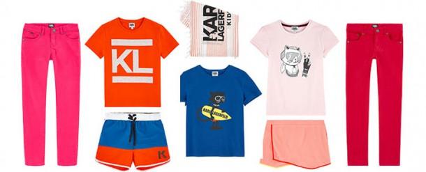 karl7 610x247 Karl Lagerfeld navrhol detskú kolekciu
