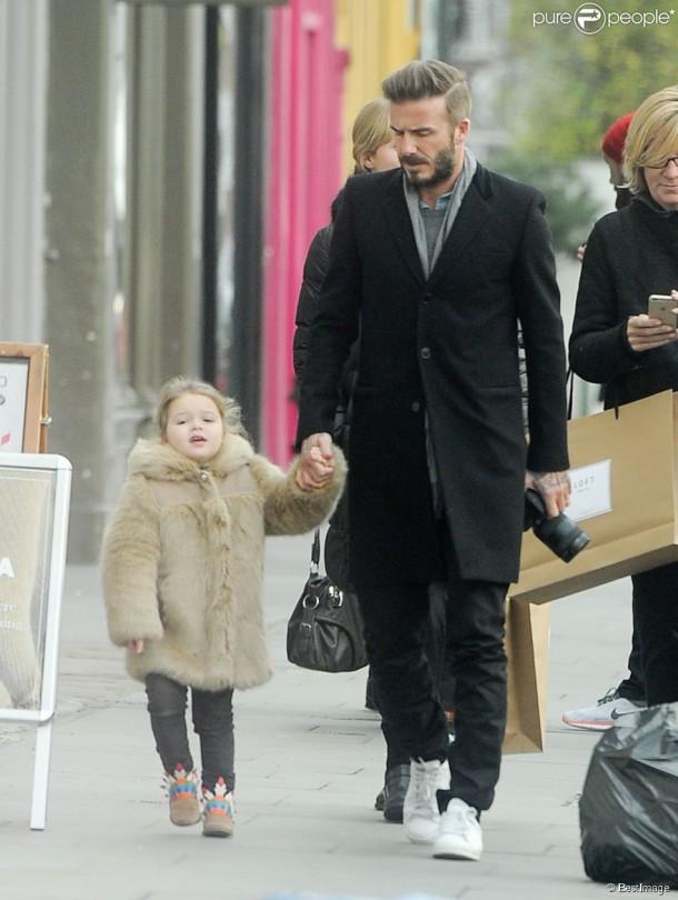1848979 exclusif david beckham et sa fille 950x0 1 610x810 Fashionistka Harper Beckham