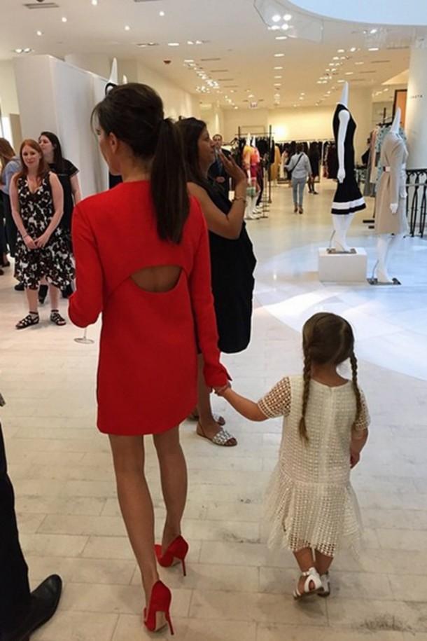 Victoria Beckham Harper Beckham style g 610x915 Fashionistka Harper Beckham