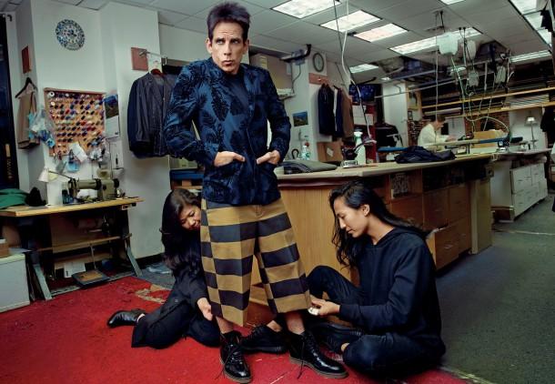 ben stiller penelope cruz vogue cover february 2016 zoolander 2 03 610x422 Derek Zoolander a Penelope Cruz na obálke Vogue