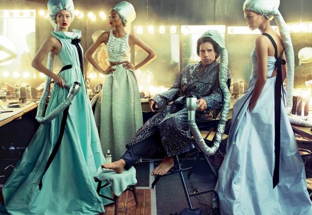 ben stiller penelope cruz vogue cover february 2016 zoolander 2 04 610x421 Derek Zoolander a Penelope Cruz na obálke Vogue