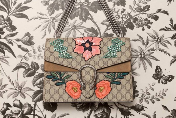 tokyo pink and orange sequin flowers city dionysus gucci 610x410 GUCCI predstavuje novú City bag z kolekcie Dionysus