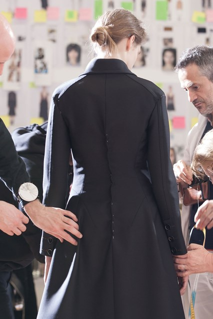 IMG 8904 dior couture backstage vogue 27jan16 426x639 BEHIND THE SCENES: Dior