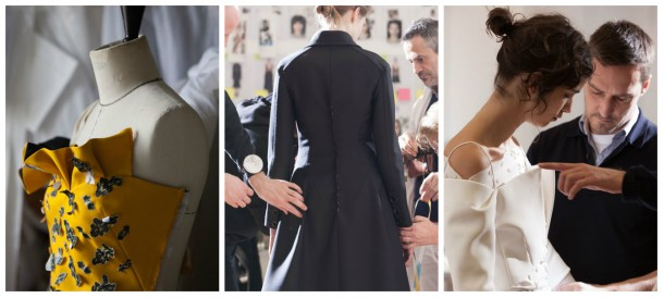 collage 610x274 BEHIND THE SCENES: Dior