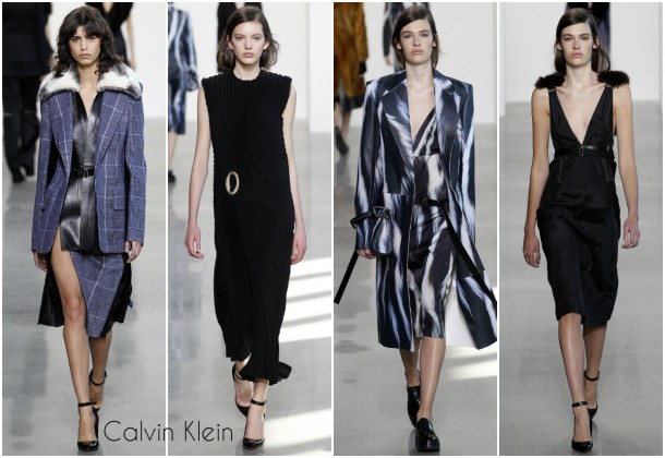 collage1Calvin Klein 610x420 New York Fashion Week   jeseň/zima 2016