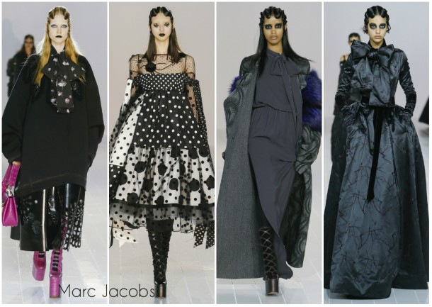 collage2 Marc Jacobs 610x433 New York Fashion Week   jeseň/zima 2016