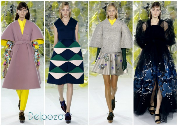 collageDelpozo 610x433 New York Fashion Week   jeseň/zima 2016