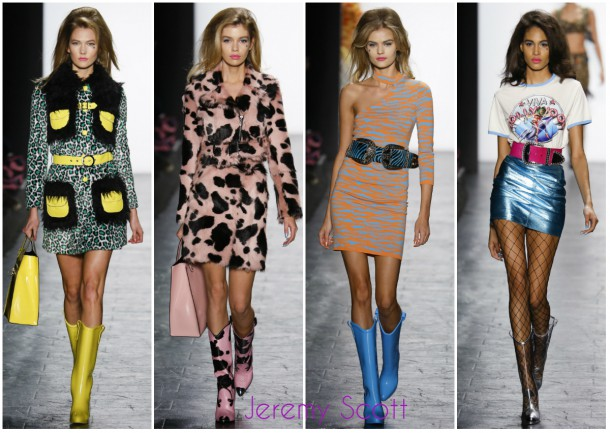 collageJeremy Scott 610x433 New York Fashion Week   jeseň/zima 2016