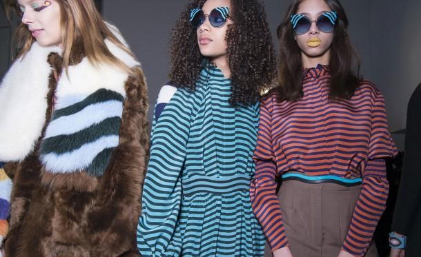 1 fendi 610x373 Milan Fashion Week   Deň 1