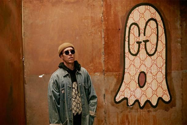 Trouble Trevor Andrew Gucci 610x409 Graffiti u Gucciho