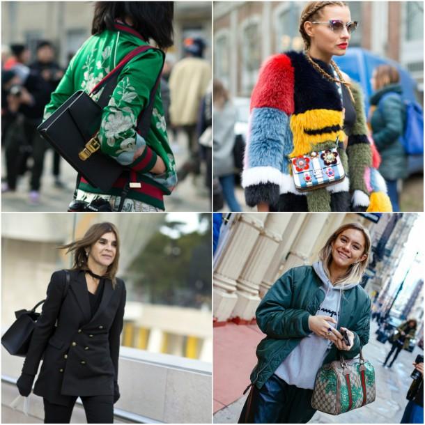 collage1 610x610 Top streetstyle  trendy z Milánskeho Fashion Weeku