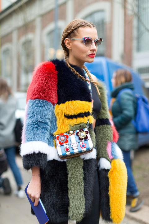 mix street style mfw 2016 day2 16 1 Top streetstyle  trendy z Milánskeho Fashion Weeku