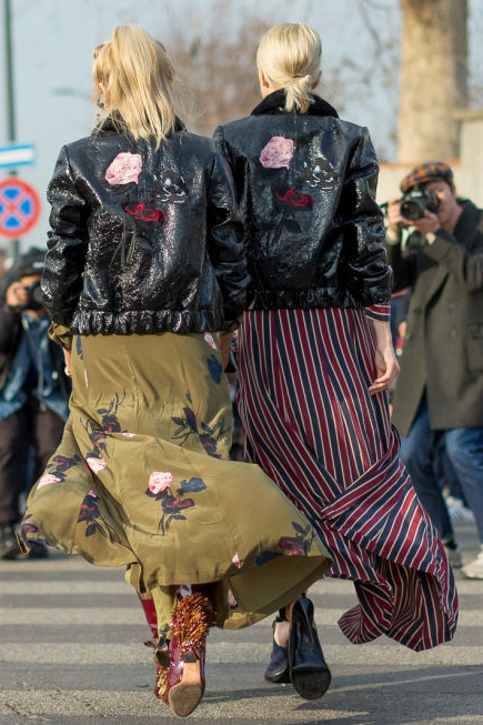 mix street style mfw 2016 day2 32 1 Top streetstyle  trendy z Milánskeho Fashion Weeku