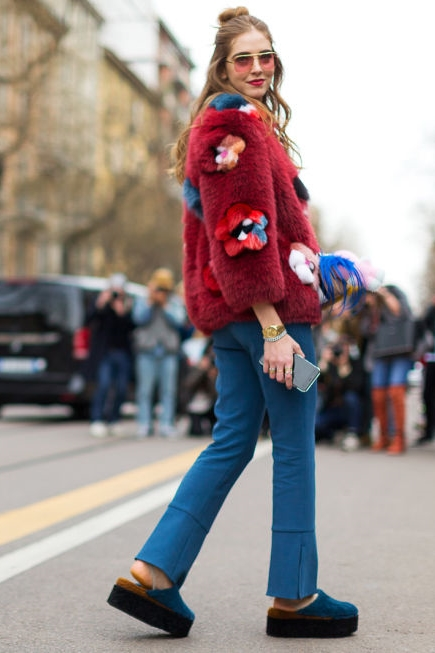 red street style mfw 2016 day2 20 1 Top streetstyle  trendy z Milánskeho Fashion Weeku