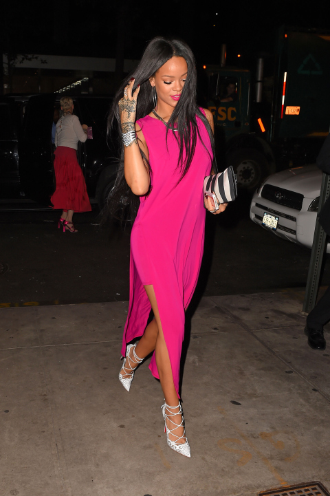 august 18 2014 Naj outfity: Rihanna