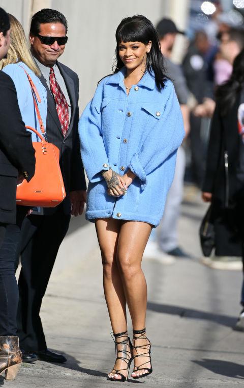 gallery 1428359502 468293250 Naj outfity: Rihanna
