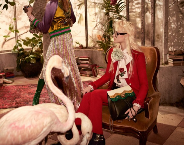 gucci prefall 16 ads 07 610x482 Kampane Fall 2016