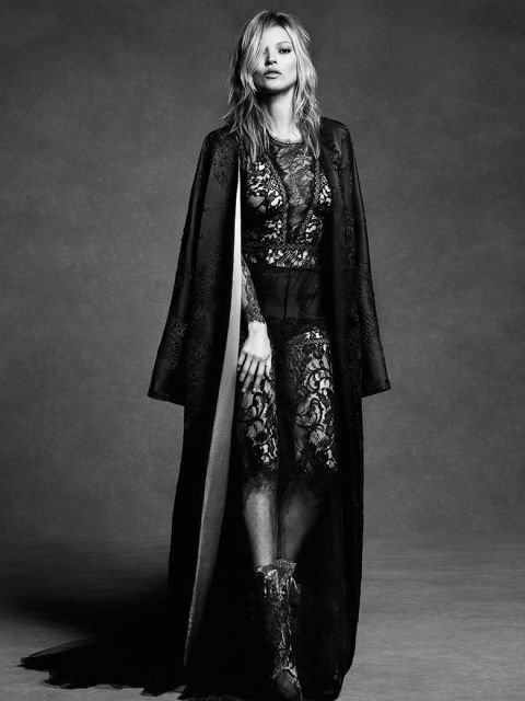 kate moss is captured by luigi iango for alberta ferretti fallwinter 1617 1 Kampane Fall 2016