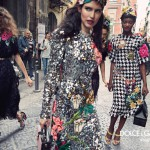 sasha kichigina bianca balti and mayowa nicholas star in dolce gabbanas fall winter 2016 campaign 150x150 Kampane Fall 2016