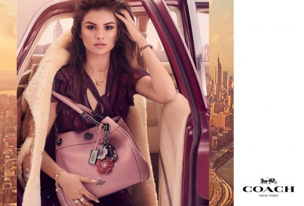 1 610x414 Selena Gomez v kampani Coach