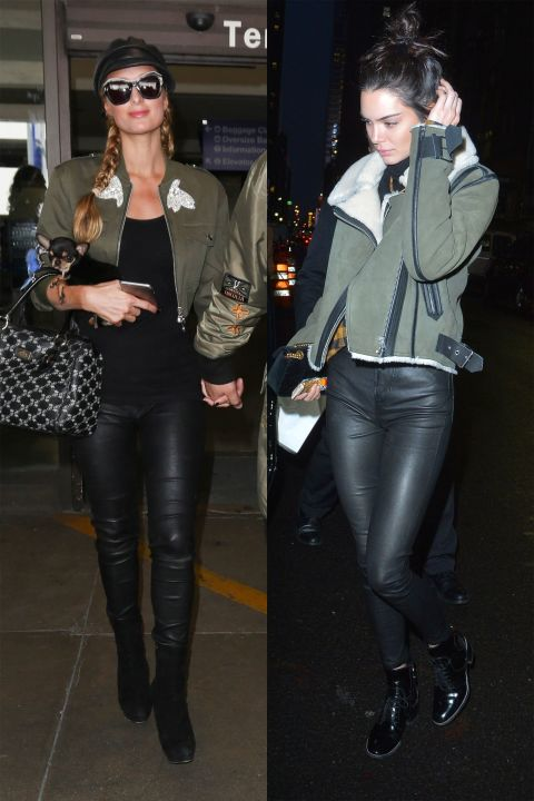1498119637 paris kendall leather army 1497649973 Hviezdne vojny: Paris Hilton VS. Kendall Jenner