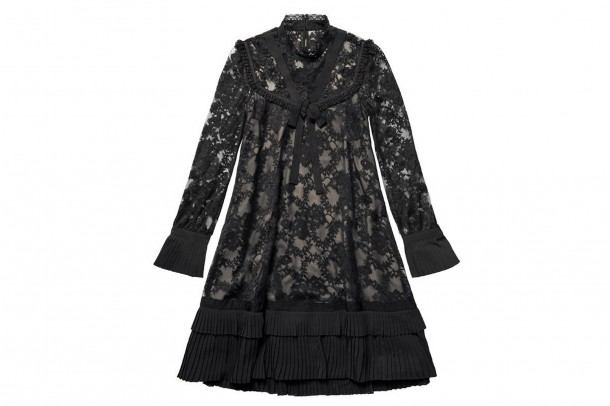 Erdem HM Black Dress 610x406 Spolupráca roka: H&M a ERDEM