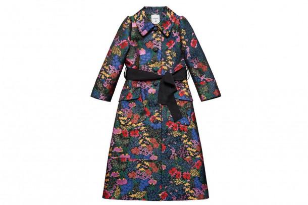 Erdem HM Floral Coat 610x406 Spolupráca roka: H&M a ERDEM