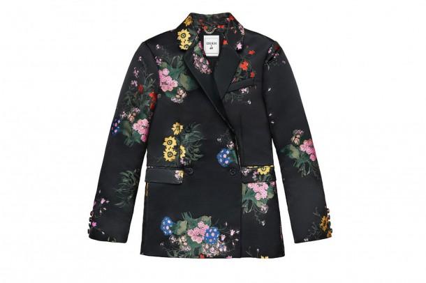 Erdem HM Floral Jacket 610x406 Spolupráca roka: H&M a ERDEM