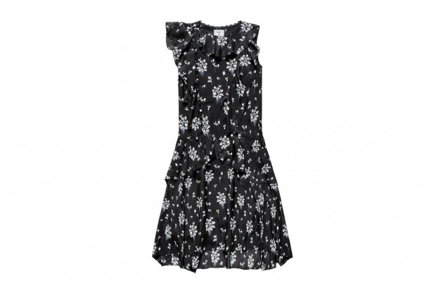 Erdem HM Mini Dress 610x406 Spolupráca roka: H&M a ERDEM